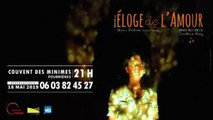 Éloge de l'amour @ Pourrières (83) Couvent des minimes | Pourrières | Provence-Alpes-Côte d'Azur | France