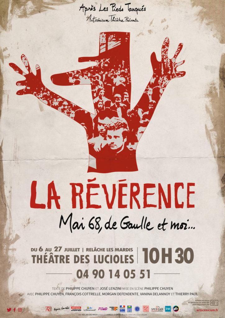 Affiche pour le festival d'Avignon OFF 2019