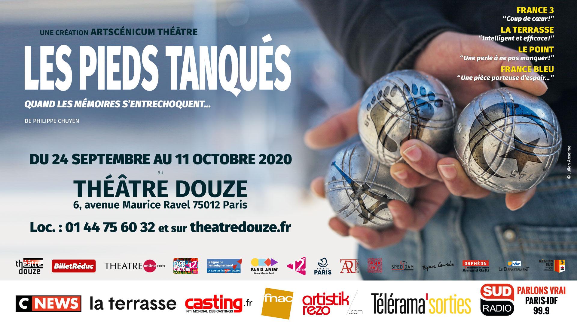 Les Pieds Tanqués sont à Paris !
