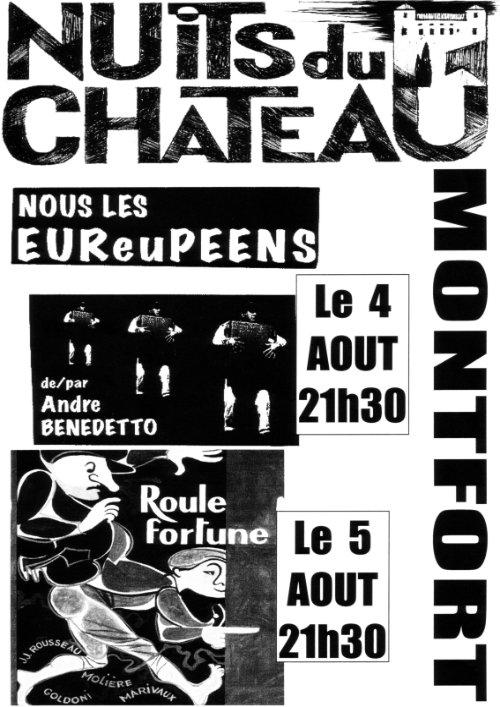 Les Nuits du Château 2e édition