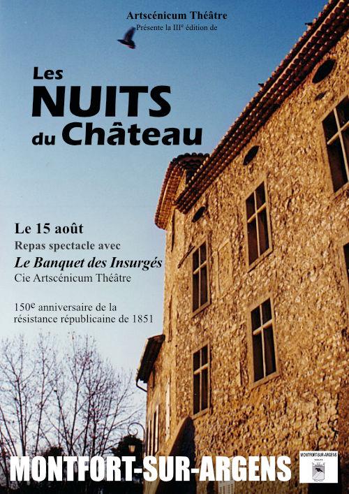 Les Nuits du Château 3e édition