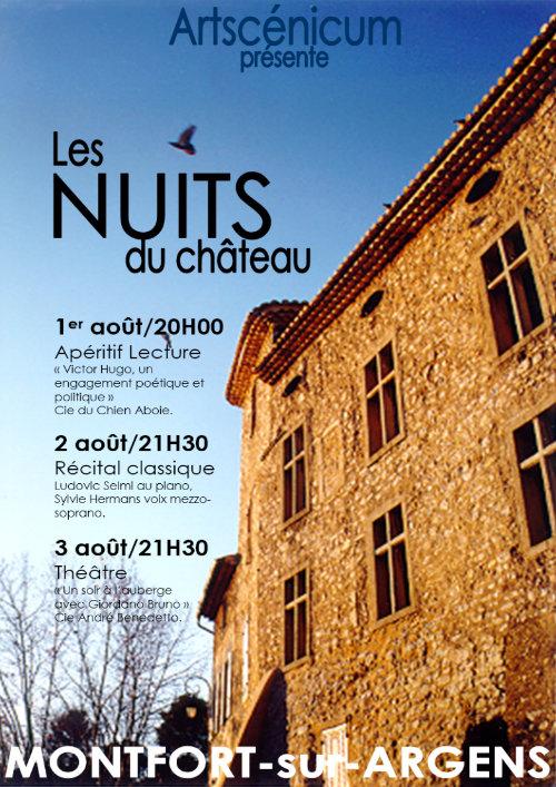 Les Nuits du Château 4e édition