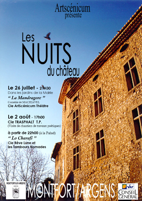 Les Nuits du Château 5e édition