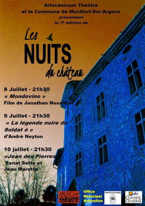 Les Nuits du Château 7e édition