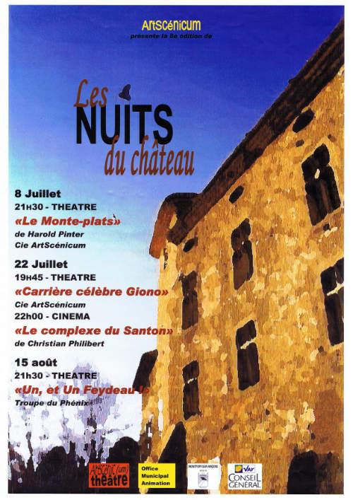 Les Nuits du Château 8e édition