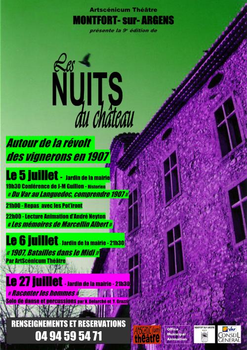 Les Nuits du Château 9e édition