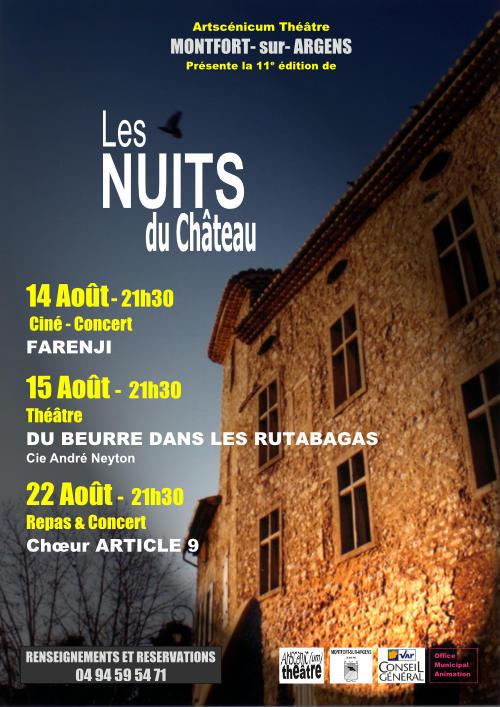 Les Nuits du Château 11e édition