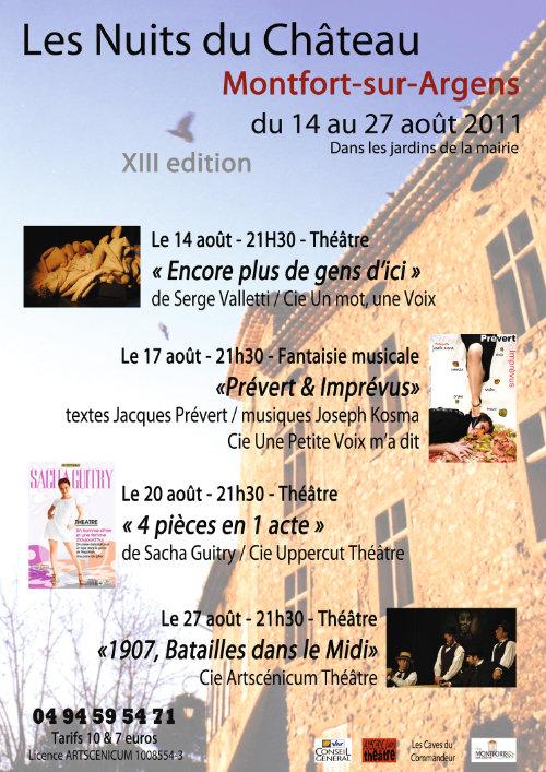 Les Nuits du Château 13e édition