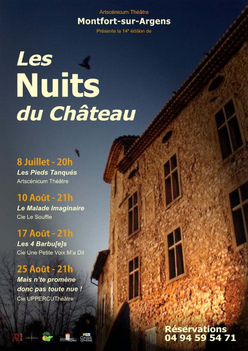 Les Nuits du Château 14e édition