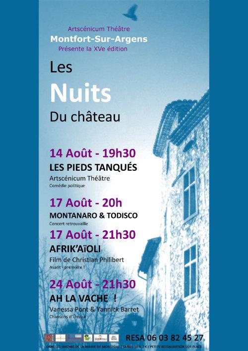 Les Nuits du Château 15e édition