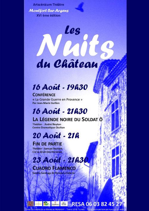 Les Nuits du Château 16e édition