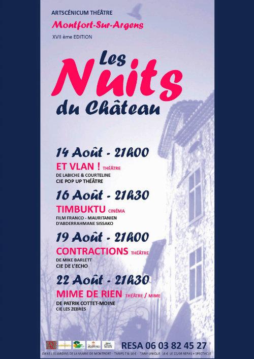 Les Nuits du Château 17e édition