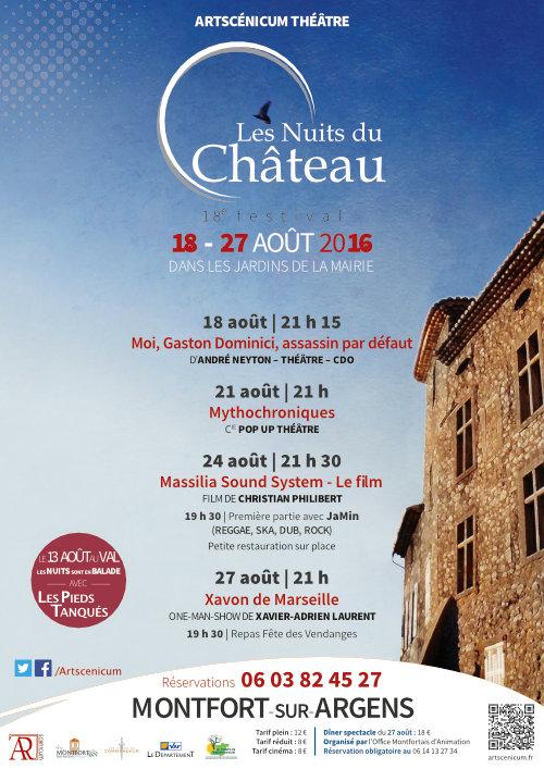 Les Nuits du Château 18e édition