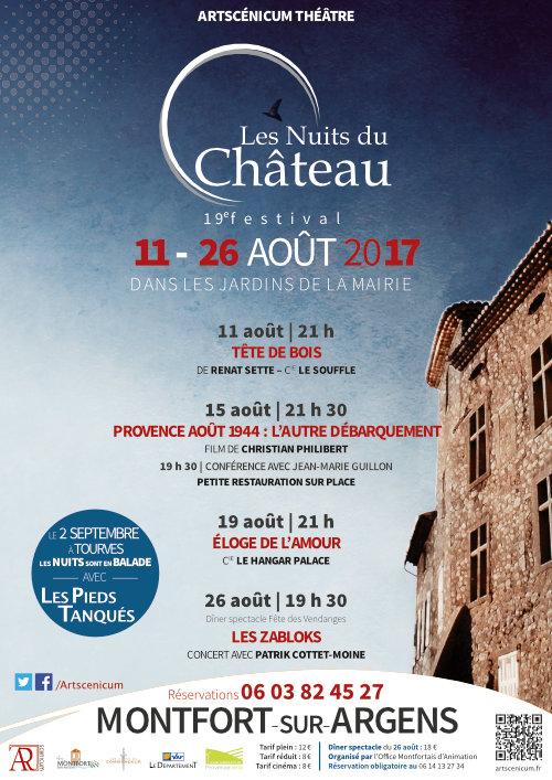 Les Nuits du Château 19e édition