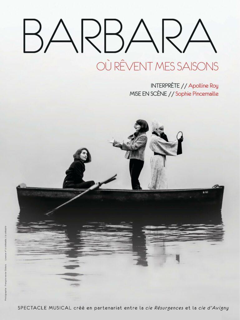 Barbara, où rêvent mes saisons